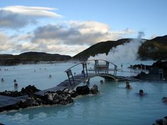 Bláa Lónið | Blue Lagoon Iceland - If you ever visit the ares, be sure to visit this for a one of a kind experience!