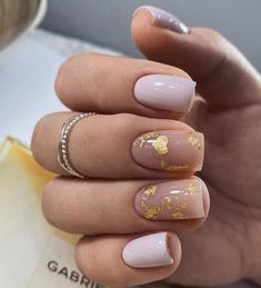 70 Beautiful Natural Short Square Nails Design For Winter Nails & Spring Nails 2020 - Page 3 of 14 - The Secret of Modern Beauty Nail Art Designs, Square Nail Designs, Short Nail Designs, Nails Design, Cute Nails, Pretty Nails, My Nails, Pretty Short Nails, Gel Nails At Home