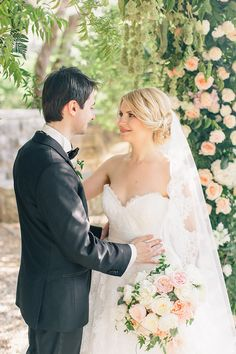 Photography: Sonya Khegay - sonyakhegay.com Wedding Dress: Rosa Clara - www.rosaclara.es/ Floral Design: Flowerslovers - www.instagram.com/flowerslovers.ru/   Read More on SMP: http://www.stylemepretty.com/2015/12/09/intimate-villa-wedding-in-montenegro/