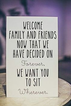 Welcome Family  Friends