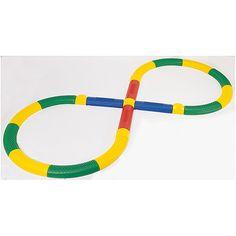 Weplay, Balancier Pfad, fördern Balance und Koordination, für Kindergarten, Schule, mit Antirutschfüßen,