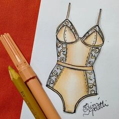 "256 Likes, 4 Comments - Tainá Saporetti 🌿 (@tainasaporetti) on Instagram: ""💙 #draw #drawing #fashion #love #inlove #fashionillustration #illustration #lingerie #intimates…"""