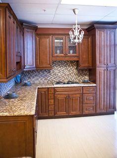Brindleton Maple kitchen cabinets - traditional - kitchen cabinets ...