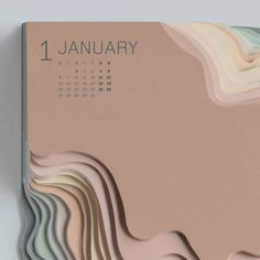 "Art director Zeynep Orbay of TBWA Istanbul created this amazing topographic calendar for Land Rover. ""We designed a daily 2014 calendar that reflects the off-road… Graphisches Design, Buch Design, Grid Design, Layout Design, Cover Design, Mise En Page Portfolio, Kalender Design, Dm Poster, Design Graphique"