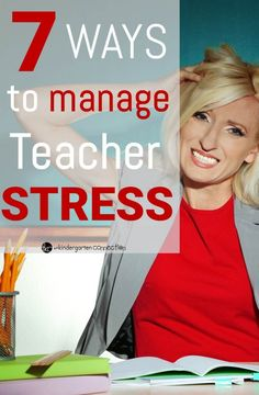 Even the most passionate teachers can feel stressed sometimes. Here are some great tips to manage it!