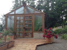 Greenhouse sadesäällä
