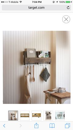 Good to put cook books and mugs or oven mits. Once again, there is very limited counter space so this might be a good option.