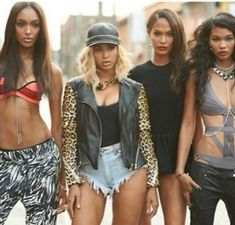 #YONCE girls talk about making the music video with Beyonce.