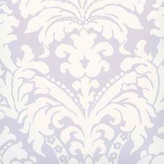 Purple Simple Damask Wallpaper - Coastal Nautical Wallpaper