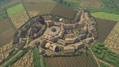 A rural village. Minecraft Building Guide, Minecraft Farm, Minecraft Castle, Minecraft Medieval, Minecraft Plans, Minecraft Construction, Minecraft Tutorial, Minecraft Blueprints, Cool Minecraft
