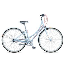 I have an awesome bike already, but this is cute for cruising through town! :-) I love the blue!