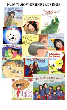 """favorite chinese/adoption books for children!  These are our favorites- C. always wants me to read """"Seven Chinese Sisters""""@Joy Stotts"""