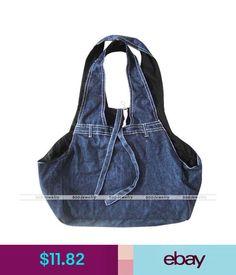 Carriers & Totes Pet Carrier Foldable Denim Soft Sided Cat/Dog Comfort Travel Sling Bag Dark Blue #ebay #Home & Garden