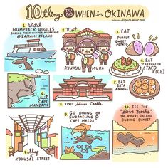 It's super cold in Japan right now, but Okinawa is one of the warmest places in the country! These are the 10 of the many things you can do in Okinawa.