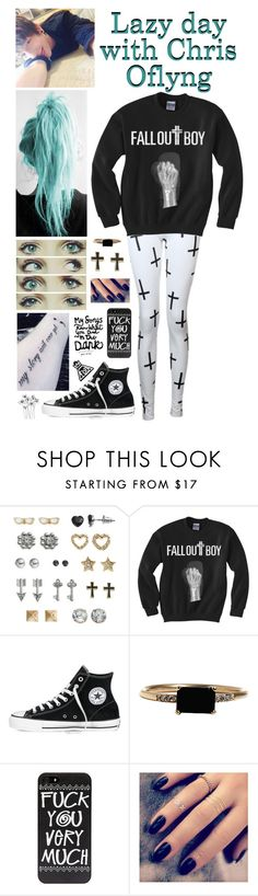 """""""Lazy day with Chris Oflyng"""" by roxouu ❤ liked on Polyvore featuring SO, Converse, LUMO and Lottie"""