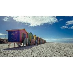 """""""Almal wil 'n huise by ie see hê. A shot from our holiday in Cape Town while at Muizenberg. What a beautiful place."""" _________________________________  captured by @jeanpierrephoto  #capetown #westerncape #southafrica #muizenberg #house #beach #beachhouse #huts #color #colour #warm #weather #tbt #throwbackthursday #landscape #discover #explore"""