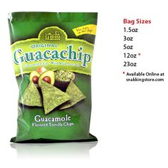 Guacachip Guacamole Flavored Tortilla Chip - I love these too!