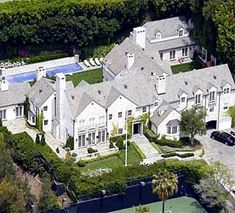 Tom Cruise Mansion Beverly Hills, CA.
