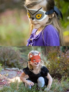 DIY Woodland Masks: Swoon for She Knows