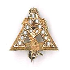 Vintage AGD badge.