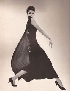 tammy17tummy: Cyd Charisse in Adele Simpson for Harper's Bazaar, 1961 Photo by Gleb Derujinsky