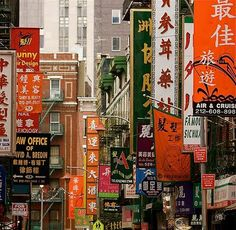 Chinatown, pinned by Ton van der Veer