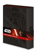 Officially Licensed Star Wars Premium A5 Notebook and Stylus Pen Set - SR71990