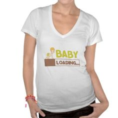 Baby Loading t-shirt ONLY $12.47 TODAY OFFER!  #tshirt #offer #baby #loading #pregnancy #maternity
