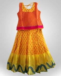Ufh Baby Lehenga, Kids Lehenga, Kids Blouse Designs, Choli Designs, Frocks For Girls, Kids Frocks, Kids Fashion Wear, Girl Fashion, Kids Ethnic Wear