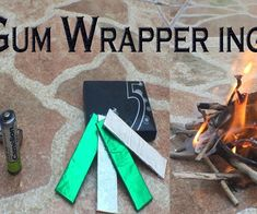 In this project I will show you how to start a fire using a AA battery and a chewing gum wrapper.You can also watch the video below where I demonstrate how its done. If you prefer to use the flint and magnesium survival fire starter, watch how to use that in this video. Let me know if you try it and if it was helpful.Follow MiiBooth on InstructablesCheckout my Youtube channel for more and subscribe while you're there www.youtube.com/miibooth Like my page on facebook at www.facebook.c...