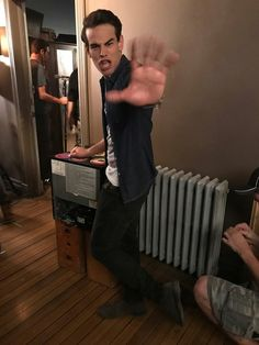 Shadowhunters: Uh oh, caught on camera! now you know how we get our super quiet Shadowhunter ninja feet!- @arosende #AlbertoTakeover