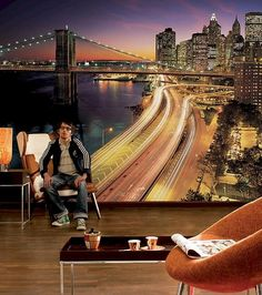 wall murals, digital prints and photo wallpaper designs for modern wall decoration