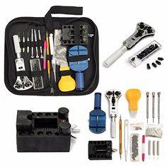 BABAN 144pcs Uhrenwerkzeug Set in Nylontasche watch tool