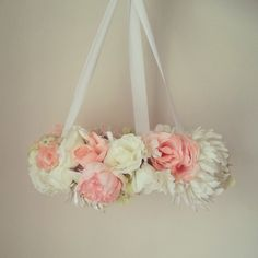 Floral Mobile 'Lola' by HALObyAmy on Etsy