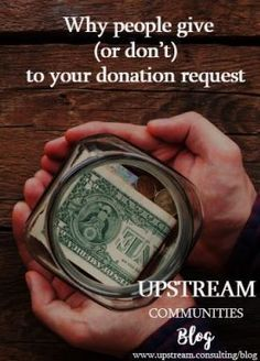How to get more donations from your fundraising requests.  How to raise money | Fundraising | Starting a Nonprofit