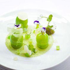 Grégoire berger - Ossiano, Atlantis Foie gras, apple, celery
