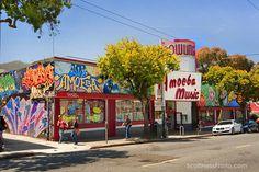 "Amoeba Music-cavernous ""record store"" in Haight Ashbury"