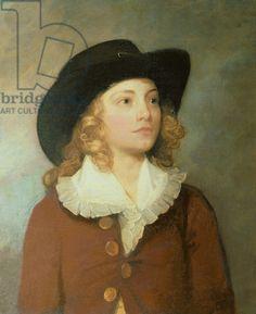Portrait of William Ralph Cartwright, MP, aged 10 (oil on canvas) Gainsborough, Thomas (1727-88)
