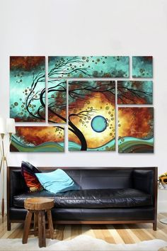 Family Joy by Megan Duncanson Canvas Print by iCanvasART on @HauteLook