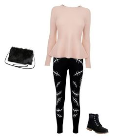 """""""Untitled #32"""" by raine-mcwaters ❤ liked on Polyvore featuring Boohoo, BOSS Hugo Boss, Timberland and Torrid"""