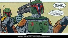 """Boba Fett Fan Club on Instagram: """"Lucasfilm Should Look To Older #BobaFett Material For Inspiration  Read the guest editorial by The IronWolf on BFFC:…"""" Star Wars Poster, Star Wars Art, Lego Star Wars, Star Trek, Star Wars Princess Leia, Star Wars Light Saber, Star Wars Girls, Star Wars Boba Fett, Education Humor"""