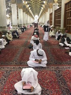 May Allah help us all in our exams.   Masjid Al-Nabawi / Madinah
