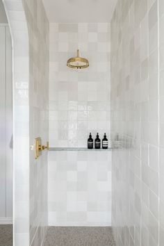 A Night and Day Shower Transformation That All Began with an Arch Decoration Inspiration, Bathroom Inspiration, Bathroom Inspo, Bathroom Ideas, Bath Ideas, Bathroom Designs, Bathroom Renos, Bathroom Interior, Remodel Bathroom
