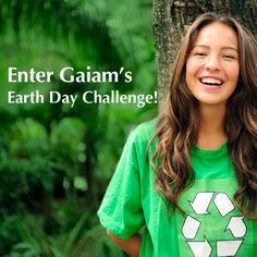 Happy Earth Day! Enter our Earth Day  Giveaway and you could win one of six Gaiam gift vouchers. Hurry, giveaway ends April 30.