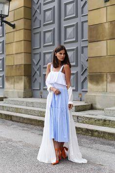 More on www.fashiioncarpet.com  Striped Dress by Zara, white dress by glamouros, shoes by zara  #fashiioncarpet #ninaschwichtenberg