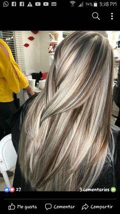 Blonde Hair Looks, Blonde Hair With Highlights, Hair Color Shades, Hair Color And Cut, Dark Chocolate Hair, Gorgeous Hair Color, Hair Coloring, Love Hair, Pretty Hairstyles
