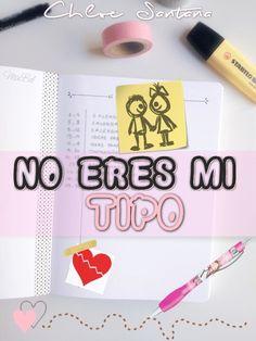 Fan Art para NO ERES MI TIPO, de Chloe Santana (Maca - Bookceando entre letras)