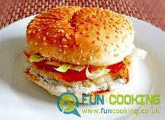 Desi Burger (Pakistani Bun Kabab)