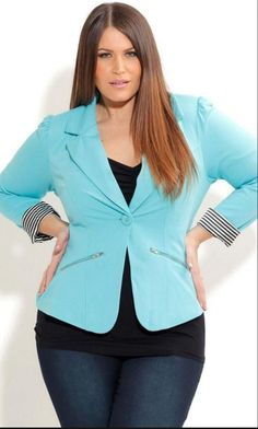 Perfect example of a great jacket shape.