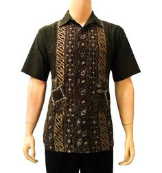 Kemeja batik pria modern Pekalongan murah Batik Art 1ad78dc80d